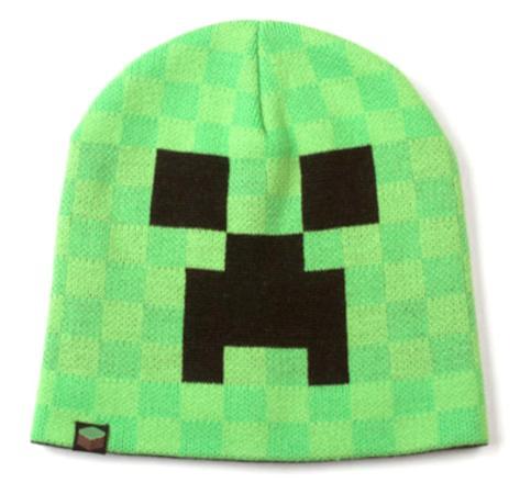 Minecraft Creeper Face Beanie Lue