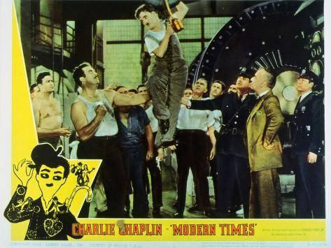 Modern Times, 1936 Kunsttrykk