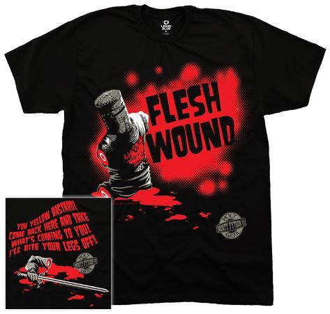 Monty Python- Flesh Wound T-skjorte