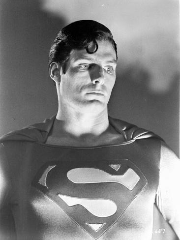 A portrait from Superman. Foto