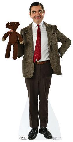 Mr Bean And Teddy Pappfigurer Hos Allposters No