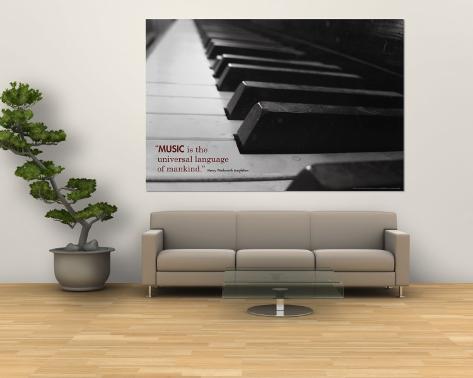 Musik Vægplakat
