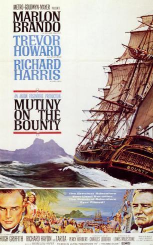 Mutiny on the Bounty Mestertrykk