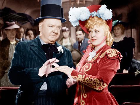 My Little Chickadee, W.C. Fields, Mae West, 1940 Foto