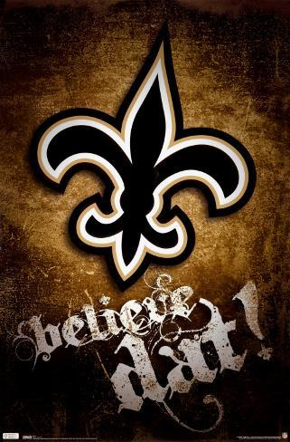 New Orleans Saints Plakat