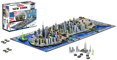 New York 4D Puzzle Puslespill