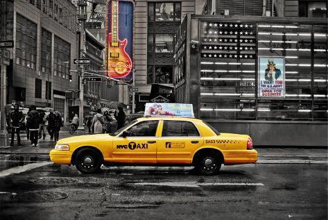 NEW YORK - 7th Avenue Plakat