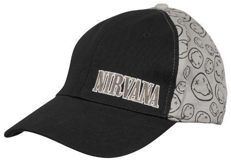 Nirvana- Smile Baseball Cap Kasket