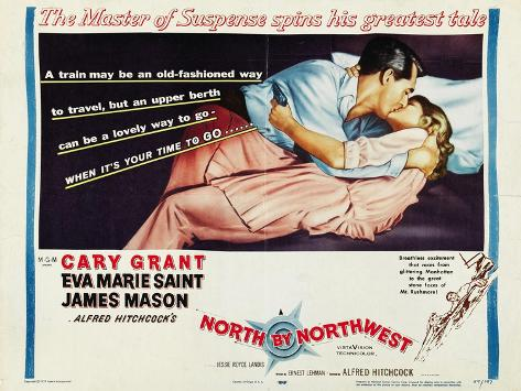 North By Northwest, 1959 Kunsttrykk