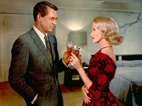 North By Northwest, Cary Grant, Eva Marie Saint, 1959 Foto