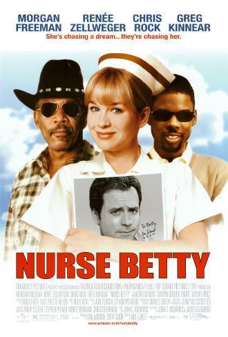 Nurse Betty Dobbeltsidet plakat