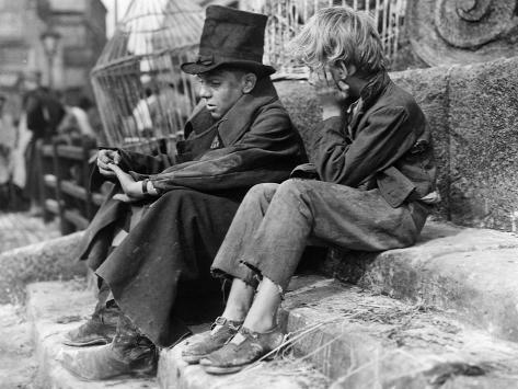 Oliver Twist, Anthony Newley, John Howard Davies, 1948 Foto