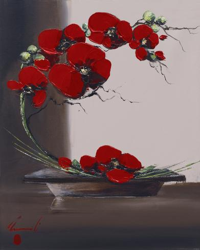 Orkidegren I Kunsttryk