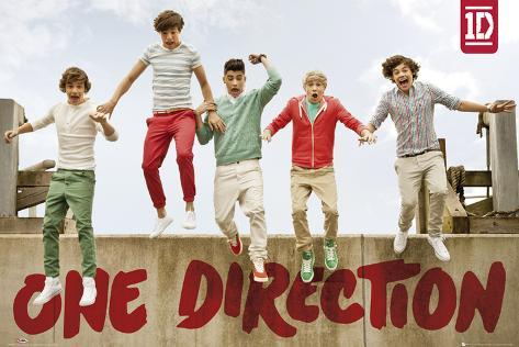 One Direction-Jumping Plakat