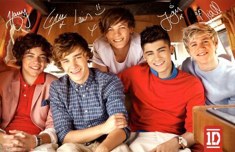 One Direction, single Plakat