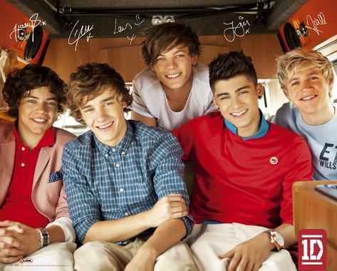 One Direction-Single Miniplakat