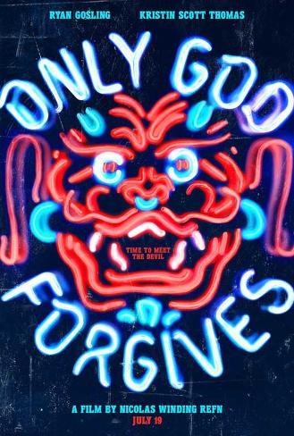 Only God Forgives (Ryan Gosling, Kristen Scott Thomas) Movie Poster Mestertrykk
