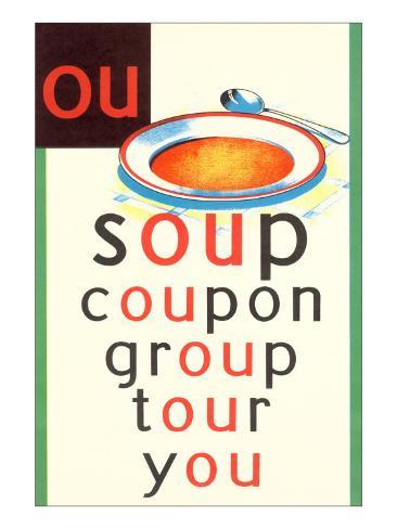 OU in Soup Kunsttryk