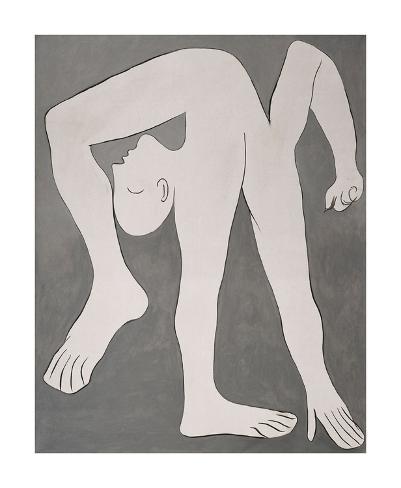 L'acrobate (The Acrobat) Kunsttryk