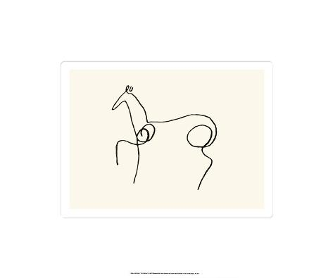 The Horse Serigrafi (silketryk)