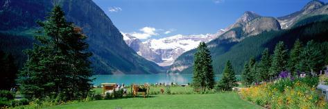 Lake Louise, Banff National Park, Alberta, Canada Wallstickers