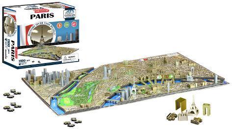 Paris, France 4D Puzzle Puslespill