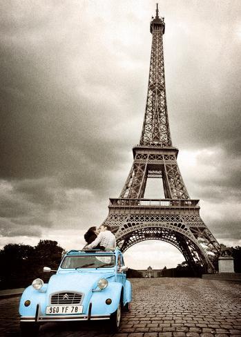 Paris-Romance Kæmpeplakat