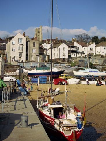 Leigh on Sea, Essex, England, United Kingdom, Europe Fotografisk trykk