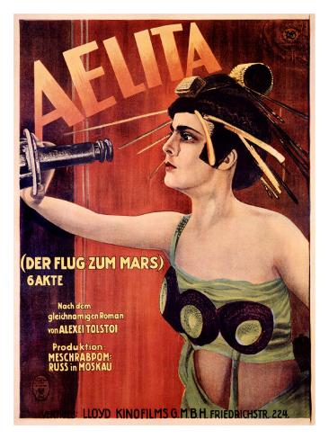 Aelita Giclée-tryk