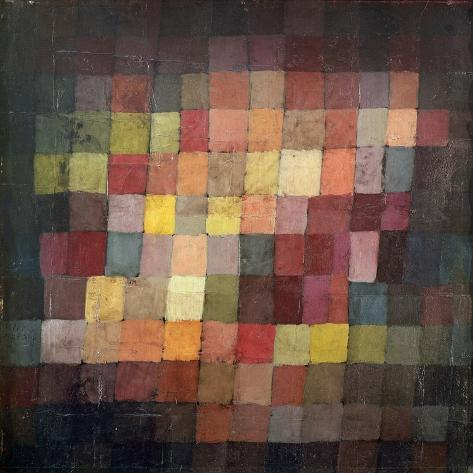 Ancient Harmony, c.1925 Kunsttryk
