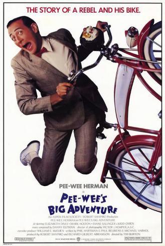 Pee wee's Big Adventure Plakat