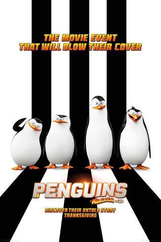 Penguins of Madagascar Plakat