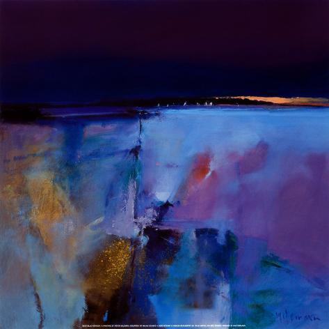Blue Horizon Kunsttryk