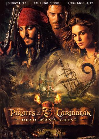 Pirates of the Caribbean: Død mands kiste Kunsttryk