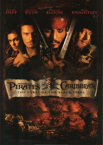 Pirates of the Caribbean Kunsttryk