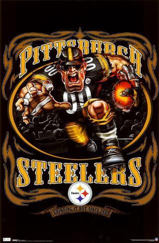 Pittsburgh Steelers Plakat