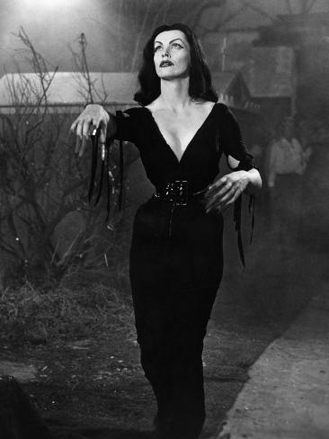 Plan 9 From Outer Space, Vampira, 1959 Foto