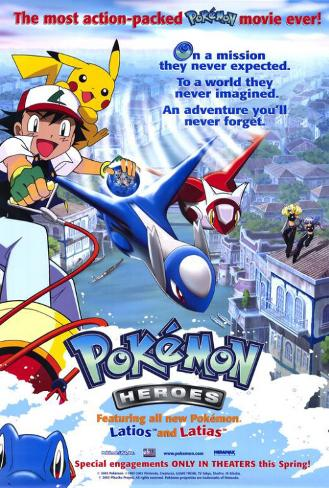 Pokemon - helte Masterprint