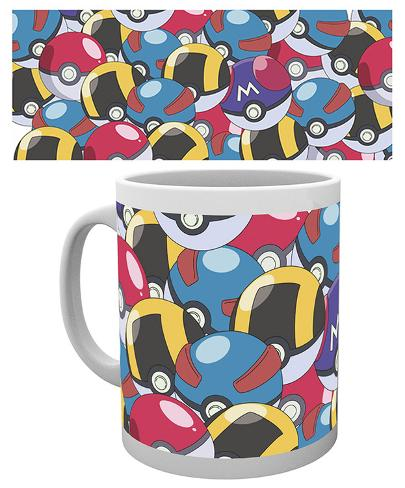 Pokemon - Pokeballs Mug Krus