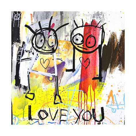 Love You Kunsttryk