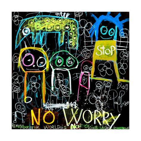 Stop No Worry Kunsttryk