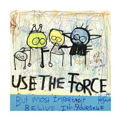 Use the Force Kunsttryk