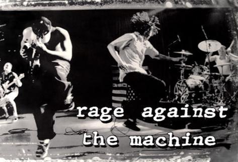 Rage Against the Machine Stofplakat