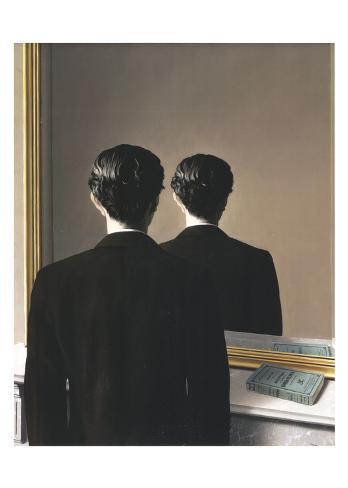 La Reproduction interdite, 1937 Kunsttryk
