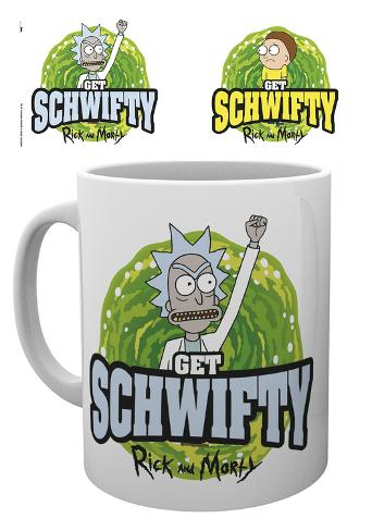 Rick & Morty - Get Schwiffy Mug Krus
