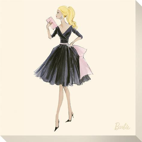 Barbie™, Midnight Mischief Trykk på strukket lerret
