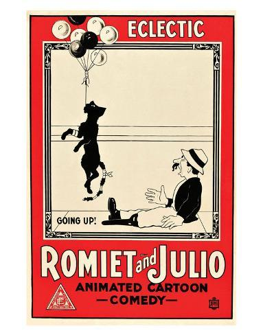 Romiet And Julio - 1915 Giclee-trykk