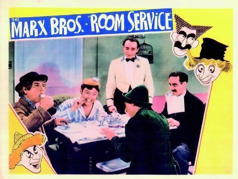 Room Service, 1938 Kunsttrykk
