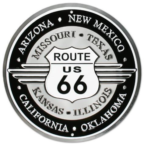 Route 66 Blikkskilt