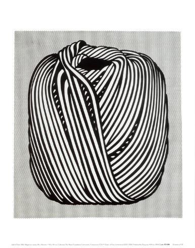 Garnnøste, 1963 Kunsttrykk